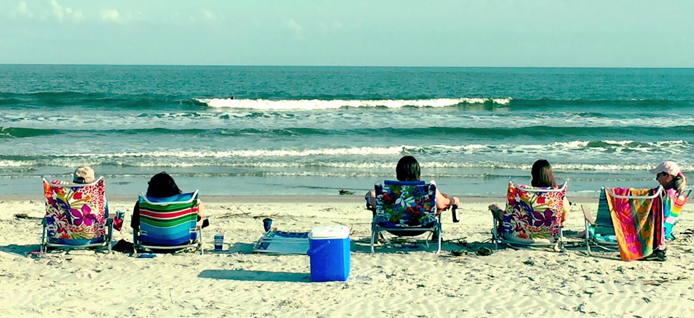 beachlounging