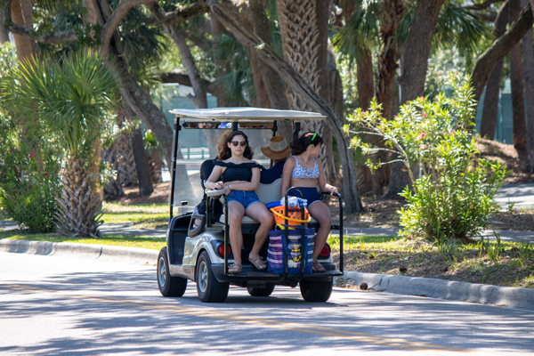 Golf Cart Fripp Island